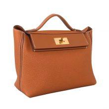 Hermès(爱马仕)Kelly2424 驼色 togo 金扣 29cm