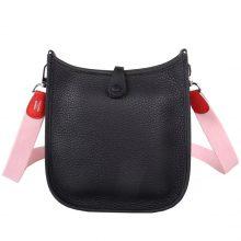 Hermès(爱马仕)Mini Evelyne 黑色 togo 17cm