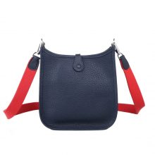 Hermès(爱马仕)Mini Evelyne 午夜蓝 togo 17cm