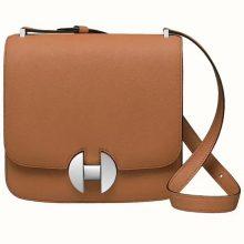 Hermès(爱马仕)新款 2002 金棕色 原厂御用顶级Ever Color皮 20cm