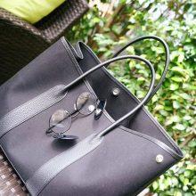 Hermès(爱马仕)garden party花园包 黑色帆布 36CM