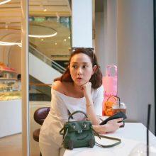 Hermès(爱马仕)Kellydoll 娃娃包 丛林绿 银扣 18cm