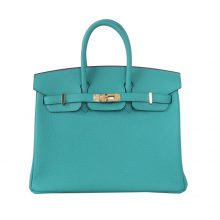 Hermès(爱马仕)Birkin 铂金包 维罗纳绿 togo 金扣 30cm