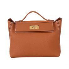 Hermès(爱马仕)Kelly 2424 金棕色 Togo 金扣 29CM