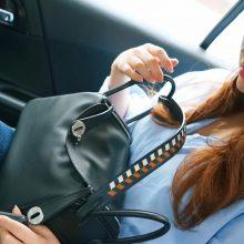 Hermès(爱马仕)Lindy 琳迪包 黑色 编织肩带 swift皮 银扣 26cm