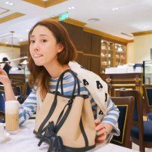 Hermès(爱马仕)garden party 花园包 30CM 黑色togo拼素色帆布