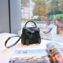 Hermès(爱马仕)kelly doll 娃娃包 黑色 swift皮