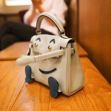 Hermès(爱马仕)kelly doll 娃娃包 冰川蓝 swift皮