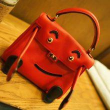 Hermès(爱马仕)kelly doll 娃娃包 Q5中国红