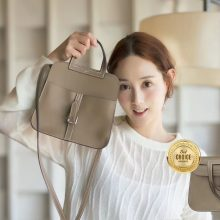 Hermès(爱马仕)Halzan mini 大象灰 swift