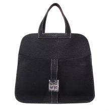 Hermès(爱马仕)halzan 31cm CK89黑色 togo