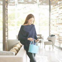 Hermès(爱马仕)Picotin 菜篮包 北方蓝 编织手柄 epsom皮 银扣 18cm