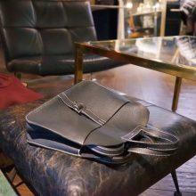Hermès(爱马仕)halzan 31cm 黑色  togo 银扣