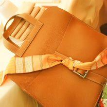 Hermès(爱马仕)halzan 31cm 金棕色  togo