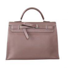Hermès(爱马仕)kelly Flat 35CM CK18大象灰 Swift皮