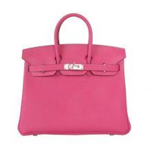 Hermès(爱马仕)Birkin 30银  玫瑰紫  Togo