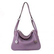 Hermès(爱马仕)lindy 30银 香芋紫 Togo