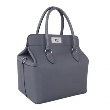 Hermès(爱马仕)Toolbox牛奶盒 锡器灰 原厂御用swift皮 银扣 26cm