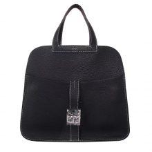 Hermès(爱马仕)halzan 30cm CK89黑色 togo