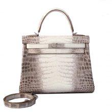 Hermès(爱马仕)Kelly 凯莉包 喜马拉雅 togo 银扣 28cm