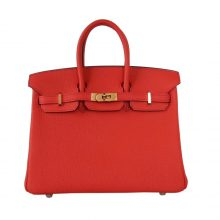 Hermès(爱马仕)Birkin 铂金包 火焰橙 togo 金扣 30cm