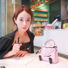 Hermès(爱马仕)kelly doll 娃娃包 水粉色 swift皮