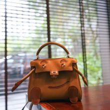 Hermès(爱马仕)kelly doll 娃娃包 军绿色 swift皮