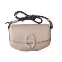 Hermès(爱马仕)MIDI 挎包 斑鸠灰 epsom皮 银扣 18cm