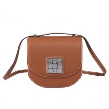 Hermès(爱马仕)马赛克 挎包 金棕色 EP皮 银扣 17cm